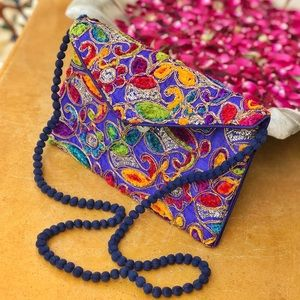 Beautifully hand crafted Exotic Indian Clutch